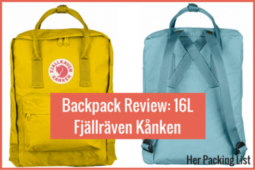 Fjällräven Kånken backpack review