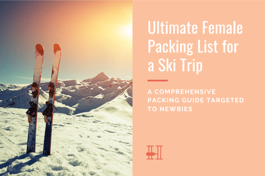 skiing trip packing list