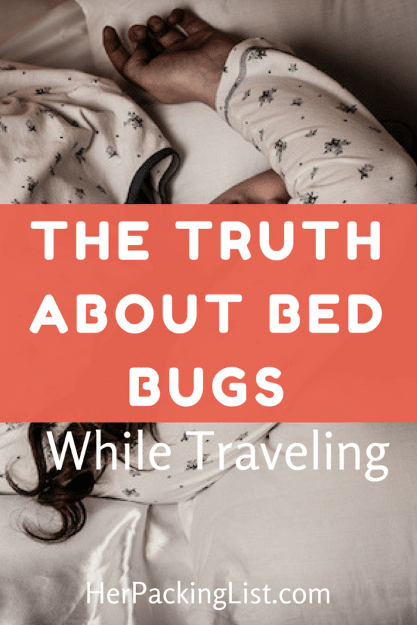 the truth about bed bugs while traveling