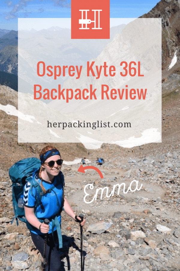 Osprey Kyte 36 backpack review