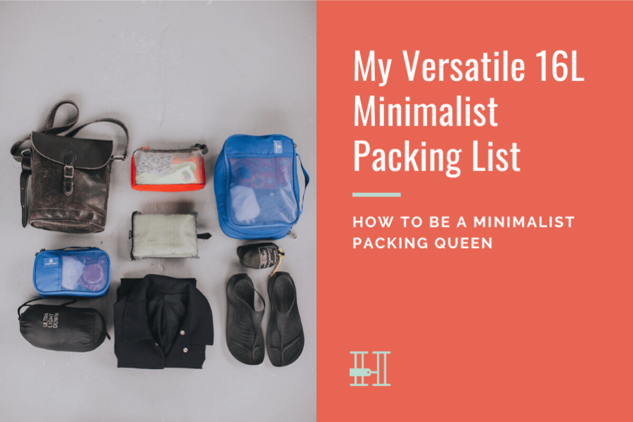 minimalist versatile packing list