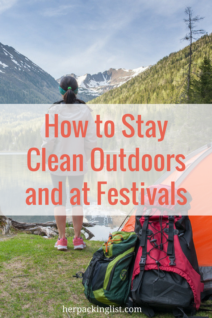 stay clean outdoors