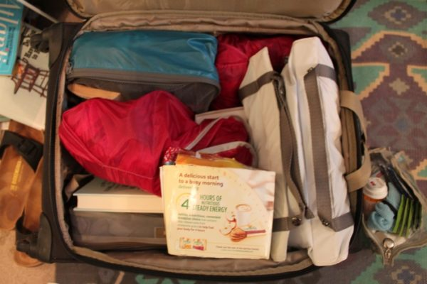 pack food when traveling