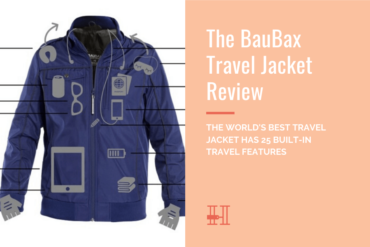 BauBax travel jacket review - features