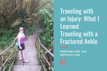 traveling with an injury tips