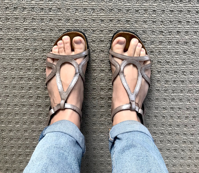 naot dorith walking sandals