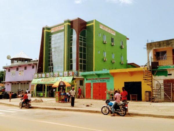 Ganta, Liberia solo travel