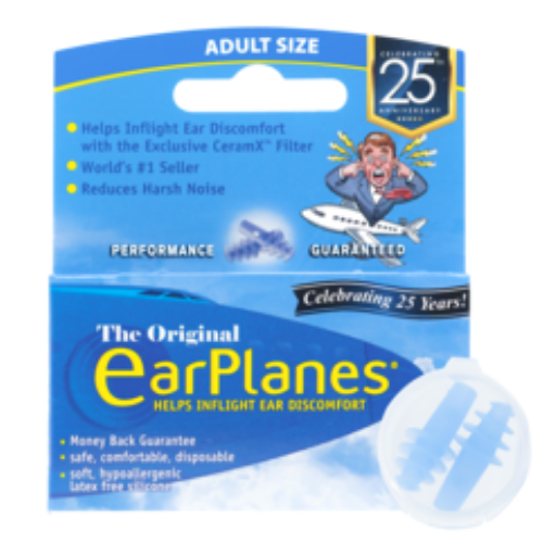 earplanes adult pressure reducing earplugs