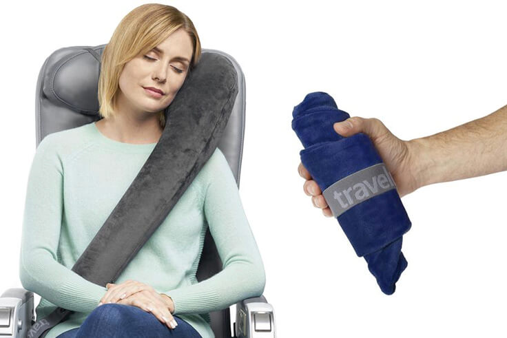 Travelrest All-In-One Travel and Neck Pillow