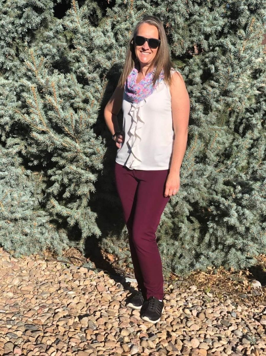 Day 9 - travel capsule wardrobe outfit for winery tour and Rome