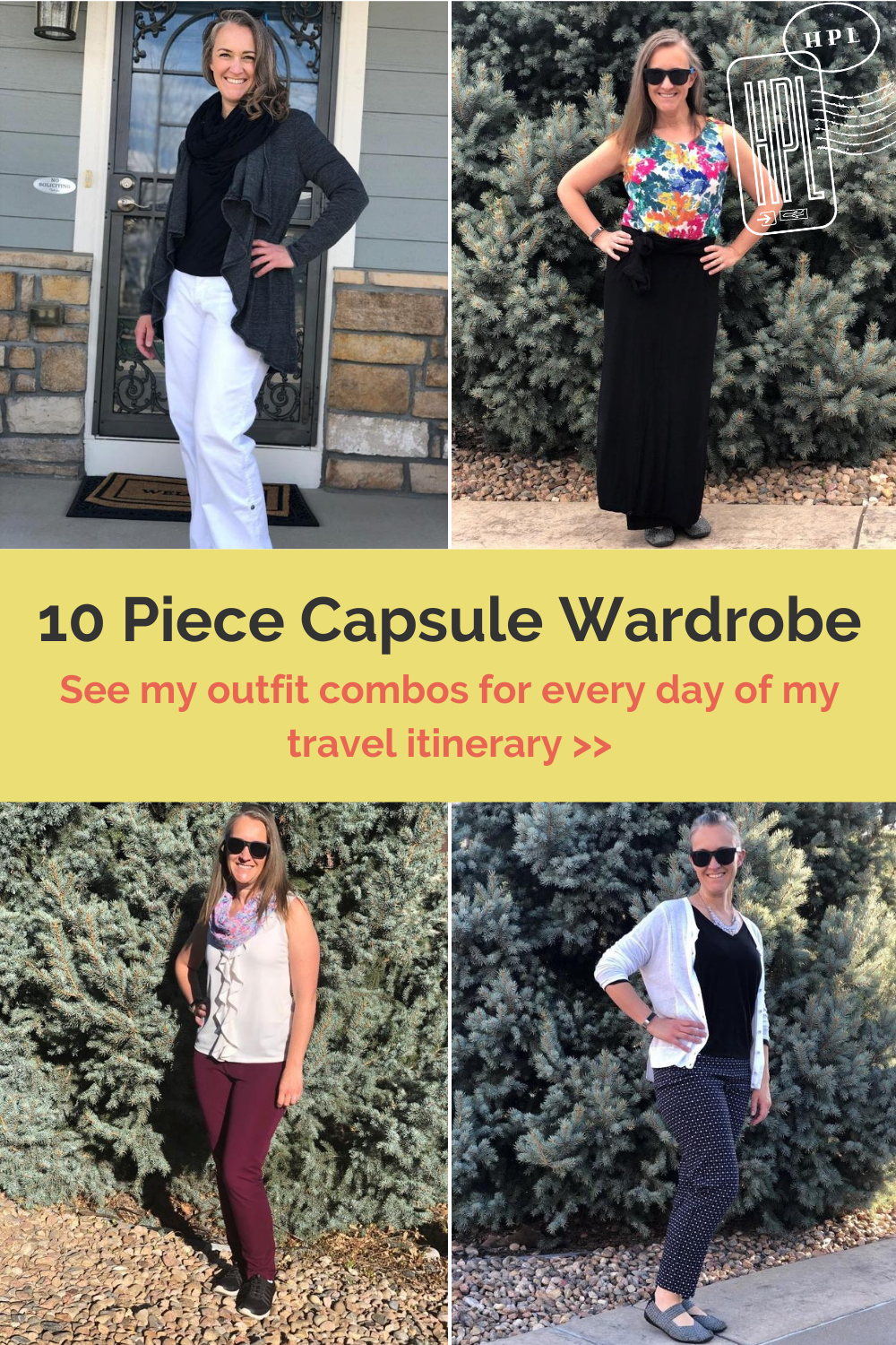 capsule wardrobe outfit combos