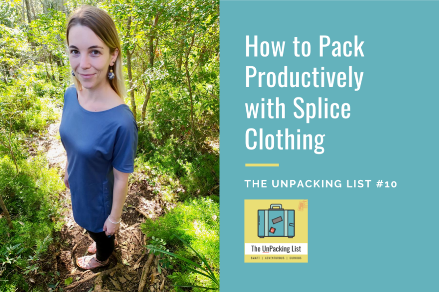 pack productively splice reversible travel clothing