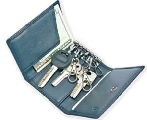 A tiny organizer for your keys, cards, and money.