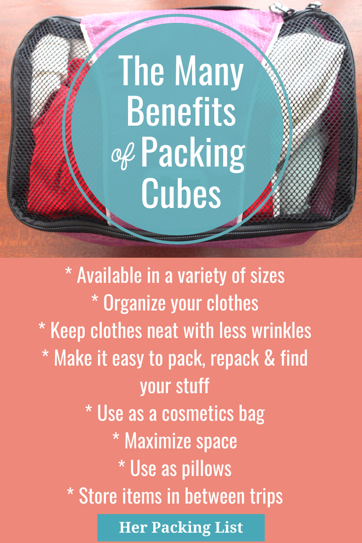 packing cube benefits