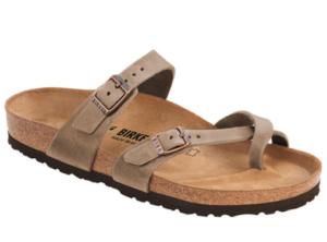 Birkenstock Mayari sandals for travel