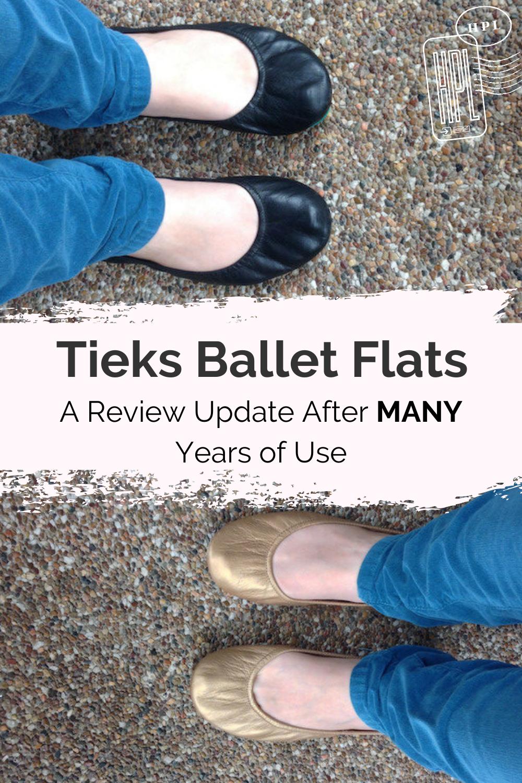 tieks ballet flats review pin