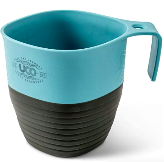 Uco collapsible camping coffee and measuring cup