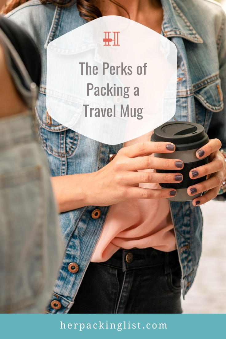 travel mugs on packing lists benefits